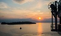 Dawn over Corfu