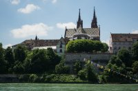 View over the River Rhine, Basel