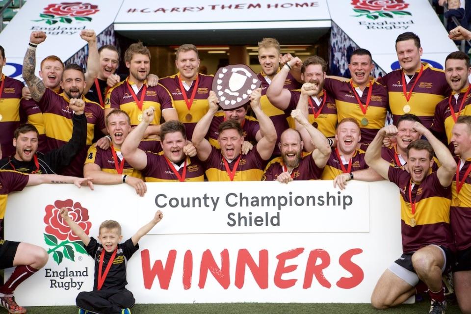 Leics v Cumbria Teams Celebrations 046