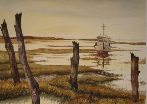 Thornham Channel, Norfolk