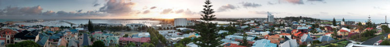 Bunbury panorama sunrise3