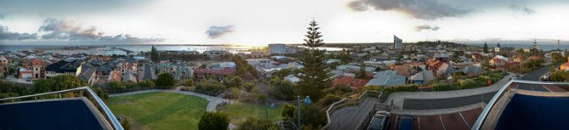 Bunbury panorama sunrise4