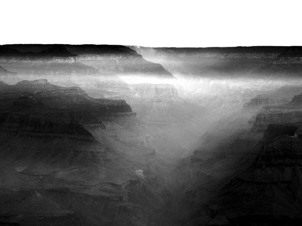 Grand Canyon in morning