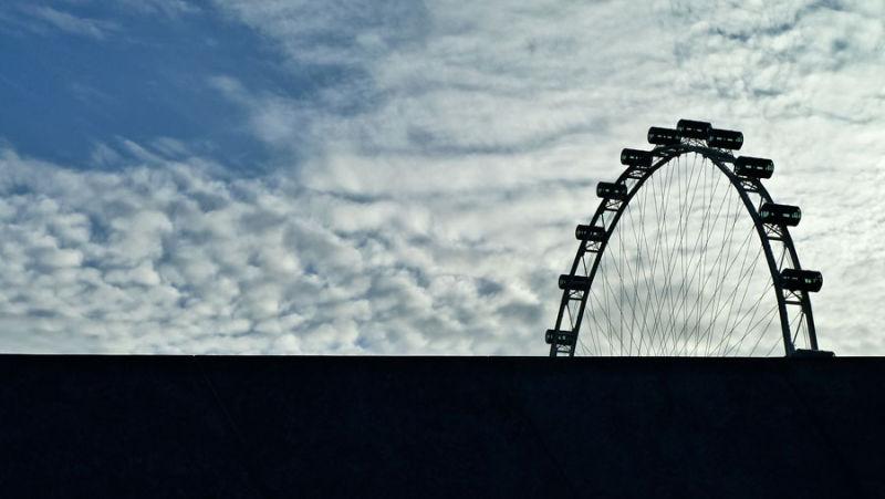 Flyer silhouette