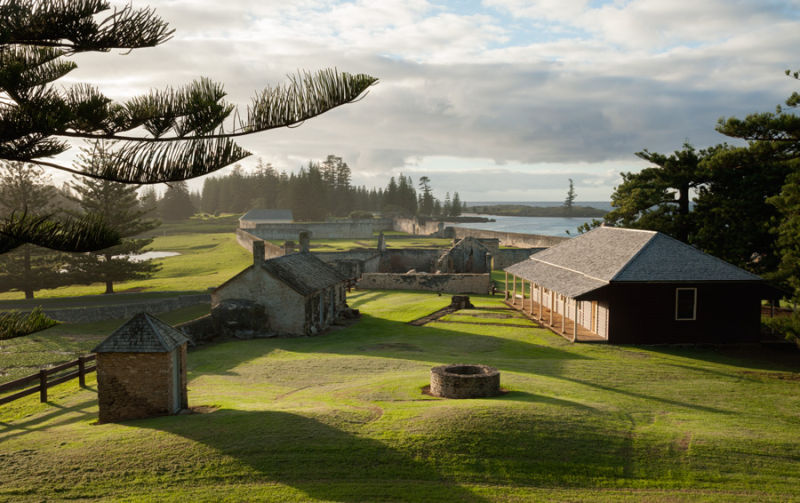 penal settlement, Kingston, Norfolk Island