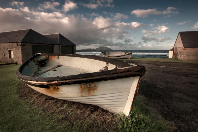 lighter boat