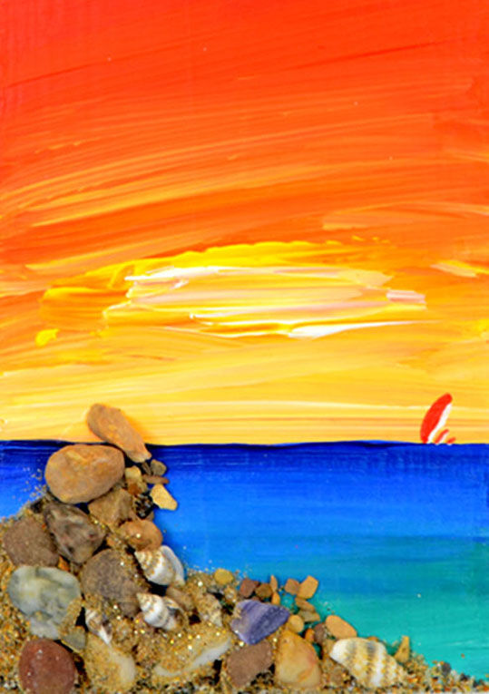 Rocky Outcrop at dawn