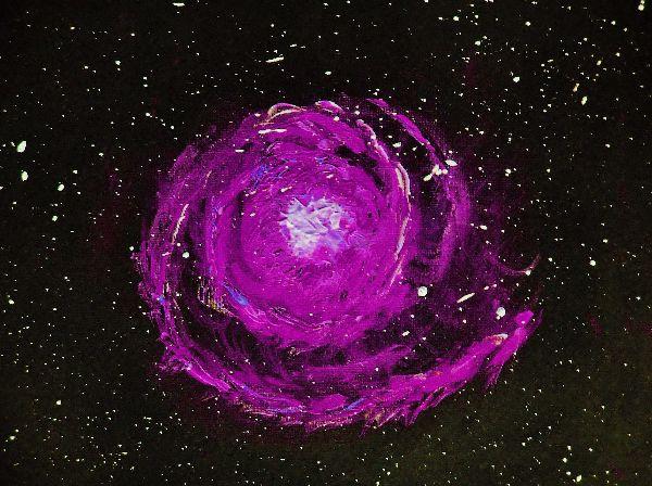 Spiral Nebula - purple