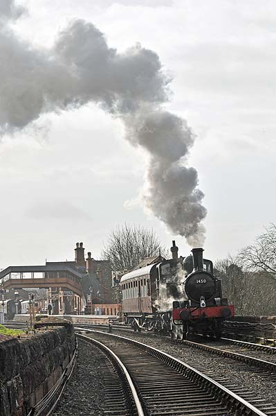 1450 departs from Bewdley