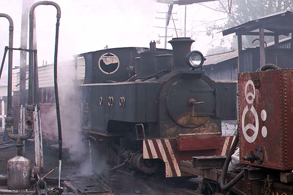 Kerr Stuart 0-4-2T No 13 built in 1914 at Namtu
