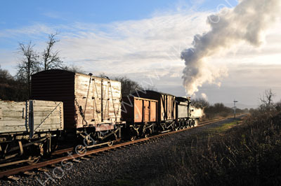 Heading towards Cheltenham in the late afternoon sun.