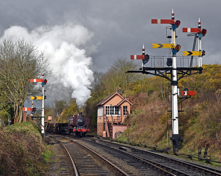Approaching Bewdley Box