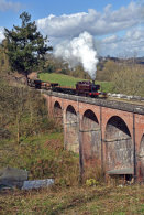 The viaduct at the Mill Bridgnorth