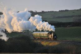 Swanage Railway M7 30053 February 2015