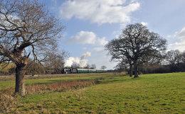 Swanage Railway U Class 31806 February 2015