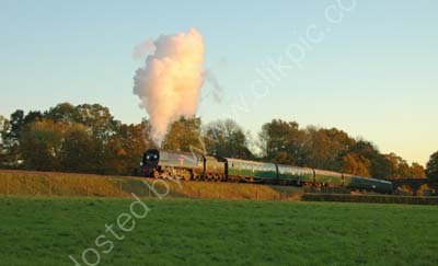 Wadebridge approaches Horstead Keynes as the sun finally fades away for the day.