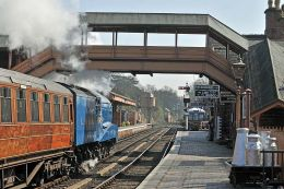 Bewdley Station.
