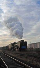 JS 8418 arrives at Fengshuigou at 0743.