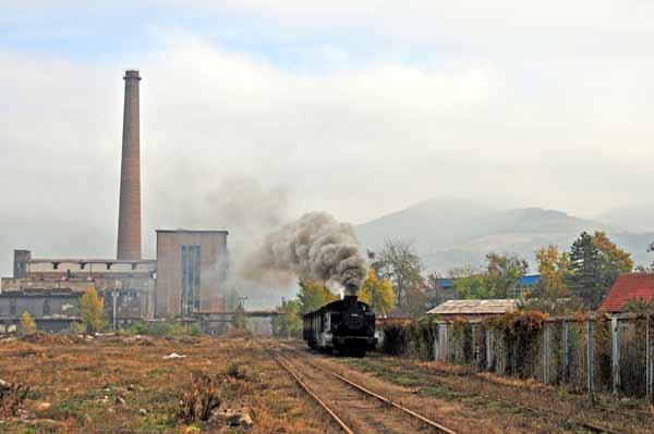 Industrial landscape, Zenica
