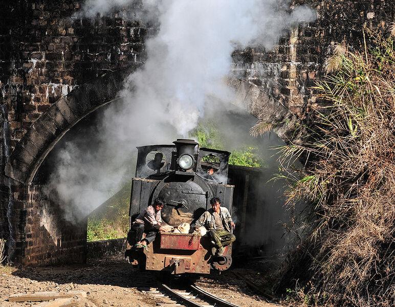 Sanding the rails