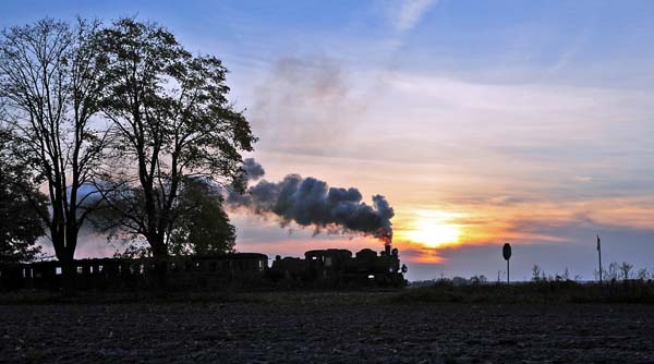 Sunset at Dobroczyn Pierwszy