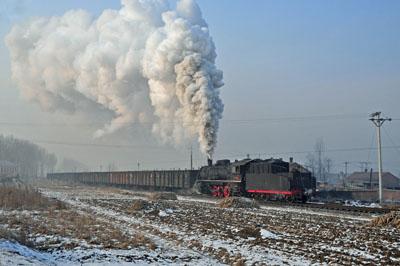 Approaching Zhengyang.
