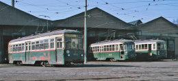 Changchun tram depot