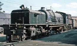 Beyer Peacock 2-6-2+2-6-2 at Bulawayo Depot