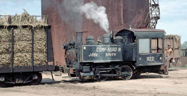 0-4-0T 1122 built by H.K.Porter in 1909 at Jose Smith Comas.