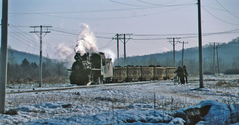 And finally a working train, Xilin Lead Mine