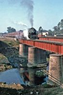 A bridge approaching Bareilly in 1993.