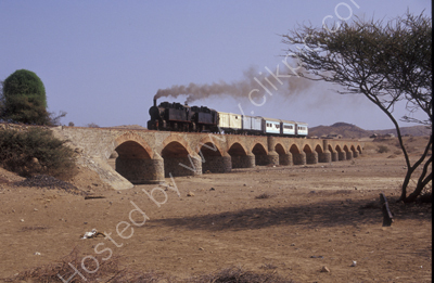 Crossing Dogali Viaduct.