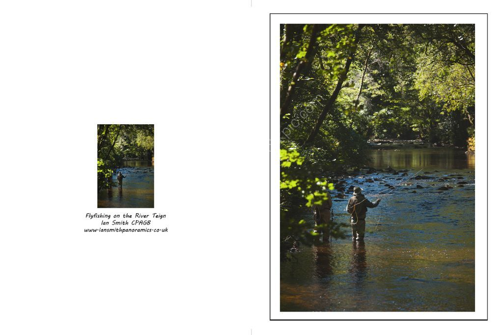 Flyfishing on the River Teign
