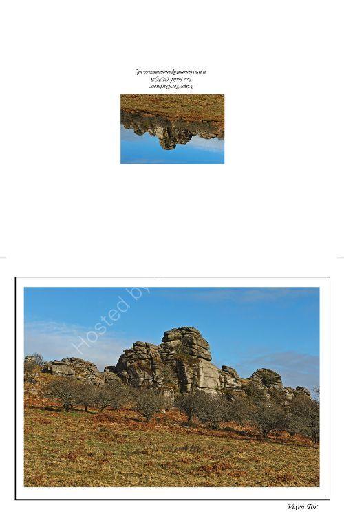 Vixen Tor Dartmoor Devon 2