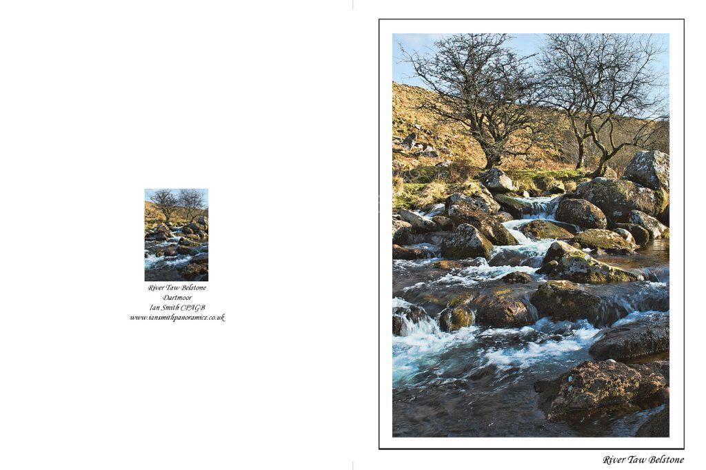 River Taw Belstone Dartmoor Devon