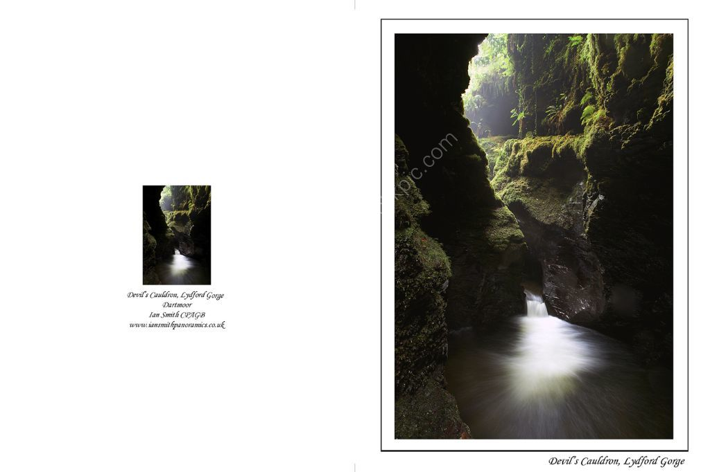 Devils Cauldron Lydford Gorge Devon