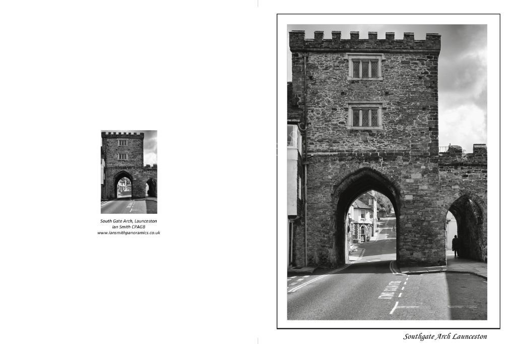 South Gate Arch Launceston Cornwall
