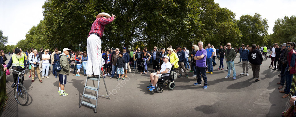 Preacher at Speakers Corner