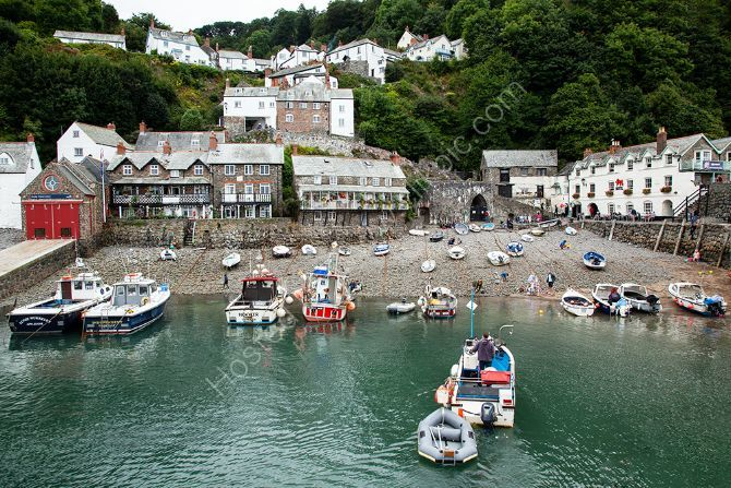 Clovelly Harbour Devon