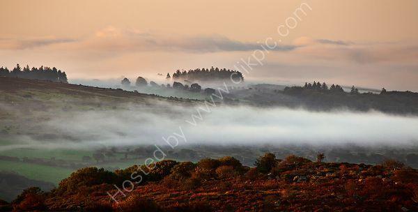 Mist over Dartmoor