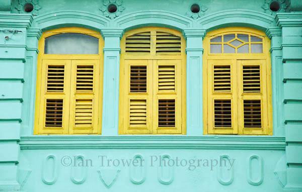 Colonial Windows, Georgetown, Penang