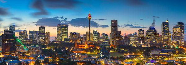 CBD at sunset, Sydney, Australia