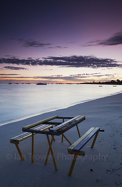 Dunsborough Beach at dawn