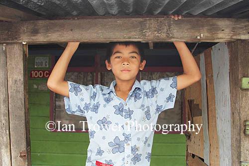 Boy From Kampung Ayer Stilt Village, Bandar Seri Begawan