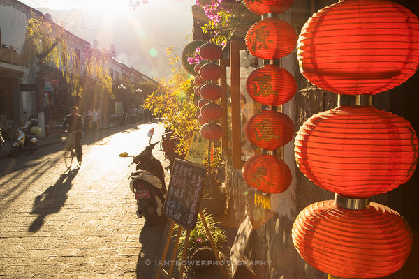 Lanterns, Dali, Yunnan, China