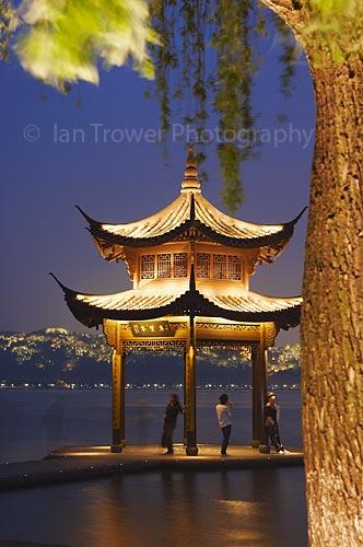 Pavilion On West Lake, Hangzhou