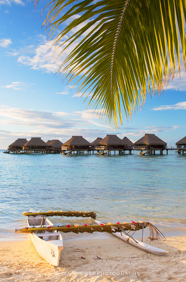 Intercontinental Hotel, Moorea, French Polynesia