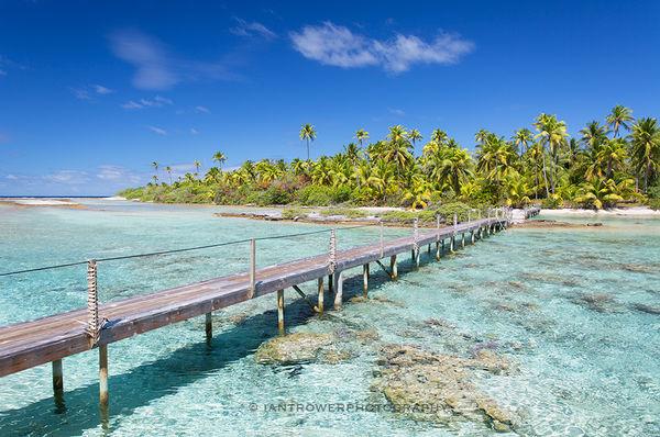 Tropical paradise, Fakarava, French Polynesia