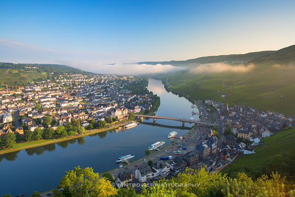 Bernkastel-Kues and Moselle River, Germany