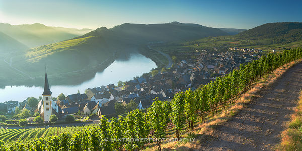 Bremm, Moselle River, Germany
